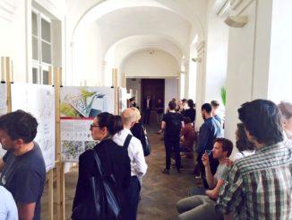 Výstava Studenti proBrno sprezentacemi studentů MUNISS 7.6.2017 | foto: PetrKunc